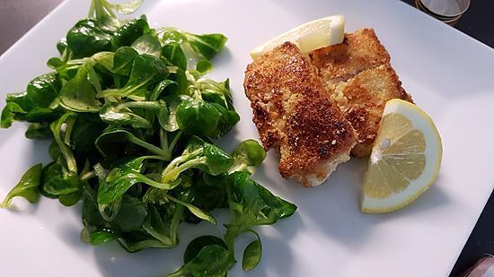 recette Filets de poisson panés aux amandes