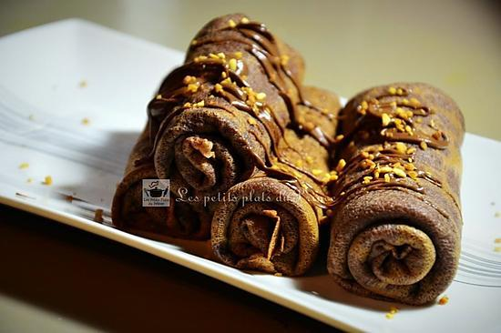 recette Chocolate Roll pancakes