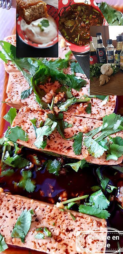recette Marinade et sauce délicieuse pour tofu et sushis