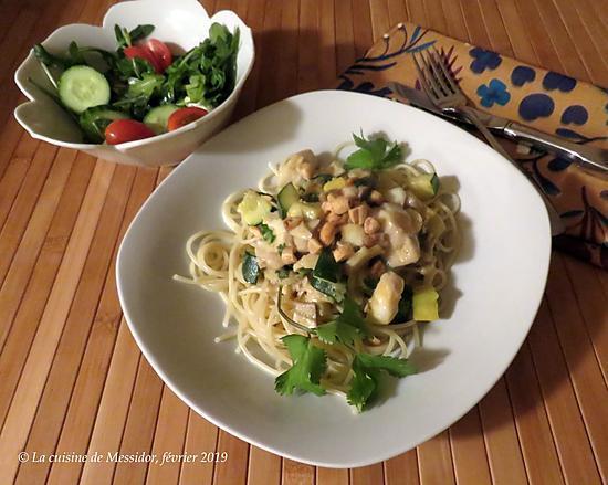 recette Spaghetti express du pêcheur