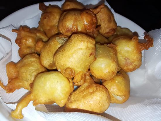 recette Beignets de knakis (mini corn dog)