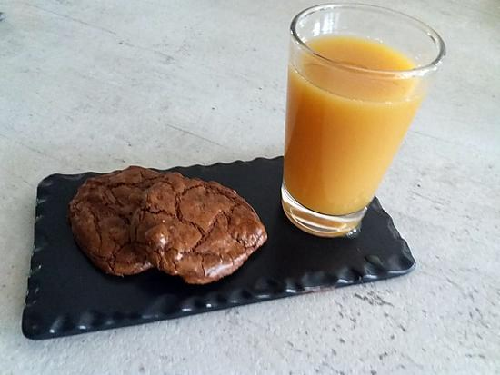 recette cookies façon brownies