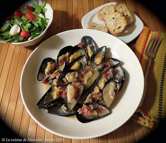 recette Moules à l'italienne, prise 2 +