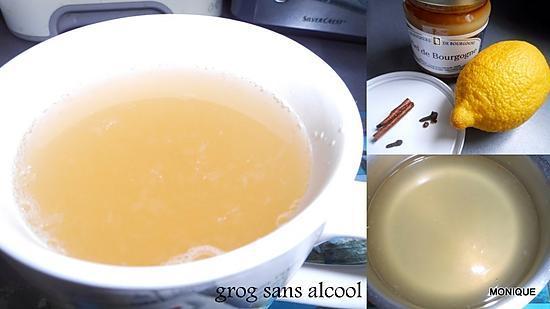 recette GROG SANS ALCOOL