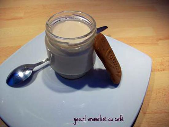 recette yaourt aromatisé au café