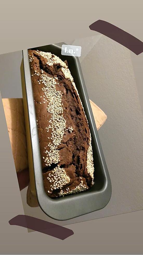 recette Cake chocolat Vegan