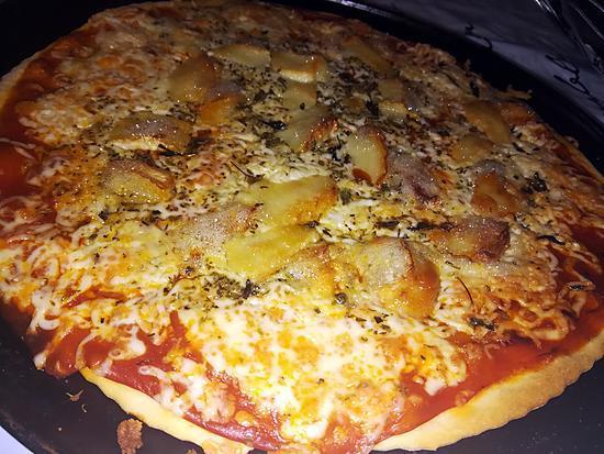recette Pizza chèvre miel