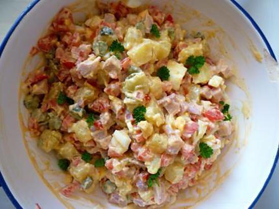 recette Salade piemontaise
