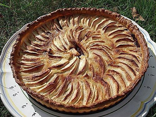 recette Tarte pomme - chocolat
