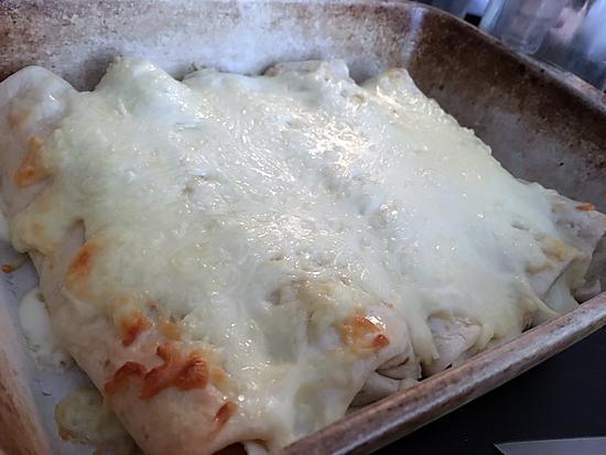 recette Gratin de tortillas
