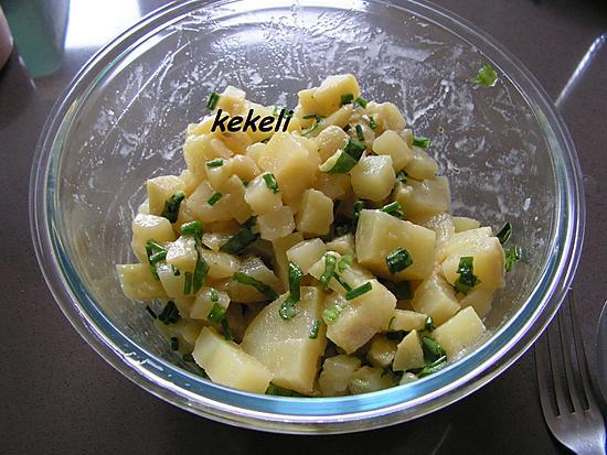 recette Salade de patates à l'ail des ours