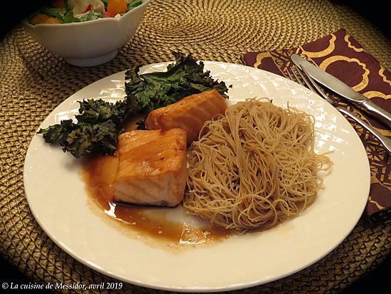 recette Saumon au four, sauce teriyaki maison +