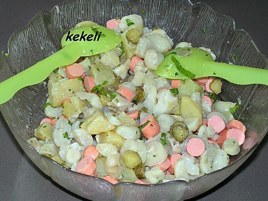 recette Ma salade piémontaise