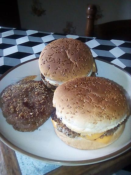recette hamburger de thon