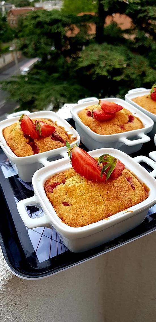 recette Moelleux aux fraises