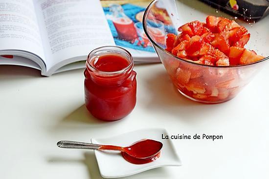 recette Sirop de fraise à la badiane, vegan
