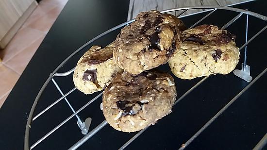 recette Cookie huile coco