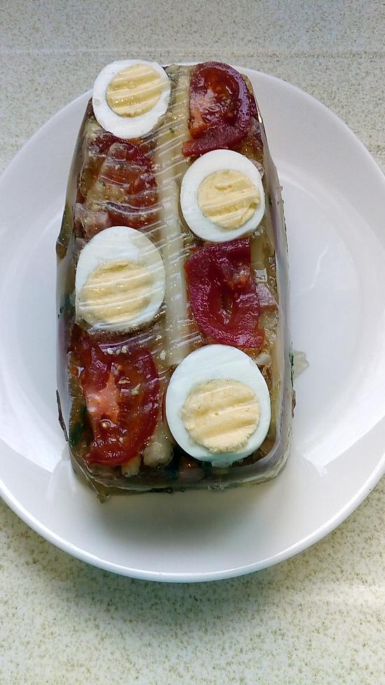 recette aspic d'asperges