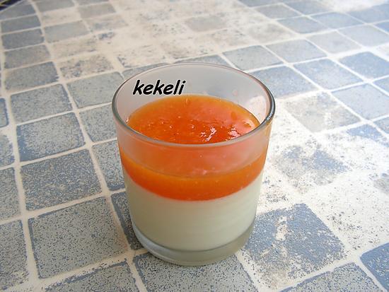 recette Panna cotta à l'abricot
