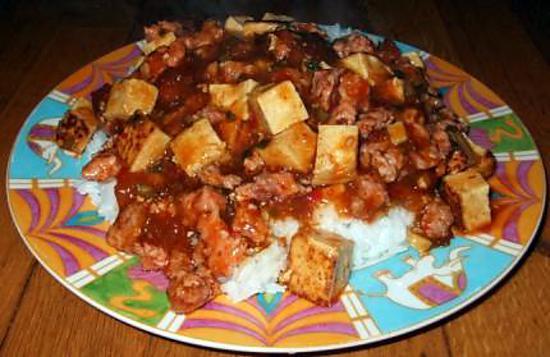 recette Mabodon - mapodofu *Chinois*