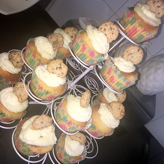 recette Cupcakes cookies