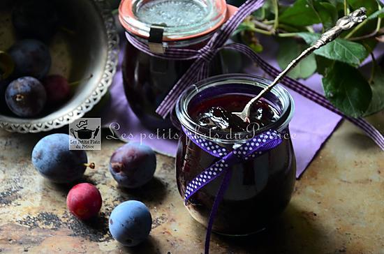 recette Recette traditionnelle de la confiture de prunes du jardin