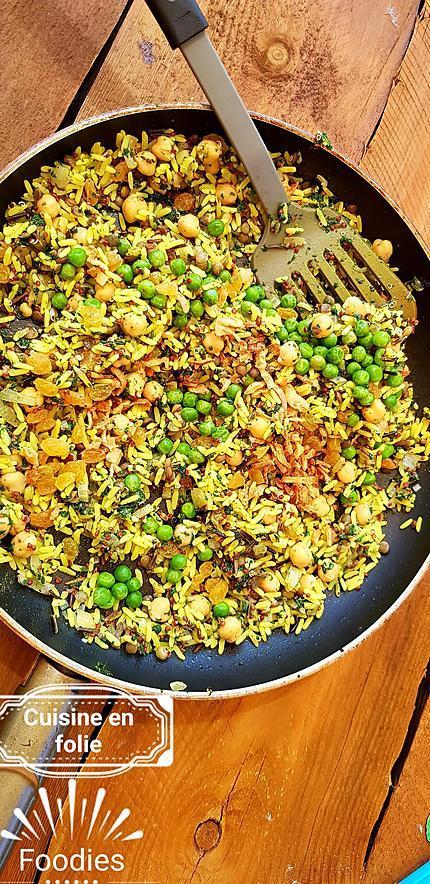 recette Sur la route de la soie.. (plat complet végétarien)