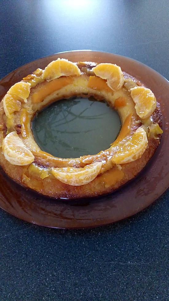 recette gateaux orange -citron