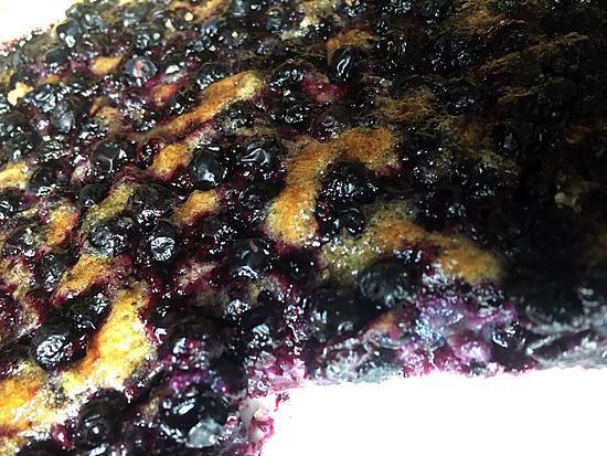 recette Tarte aux myrtilles sauvages