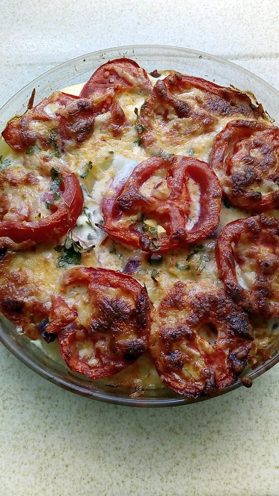 recette gratin de légumes et coppa