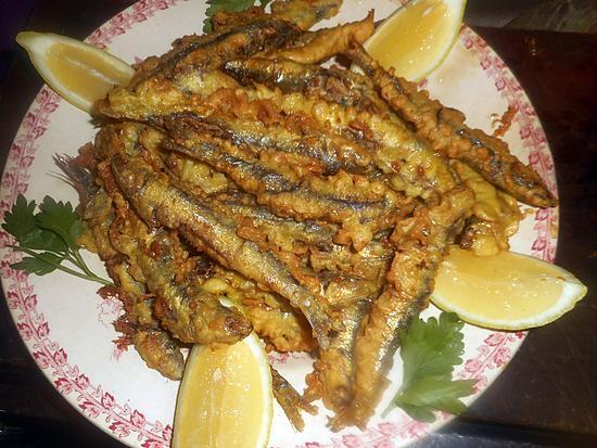 recette beignets d anchois au citron