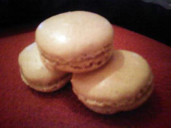recette Macarons à la confiture de lait