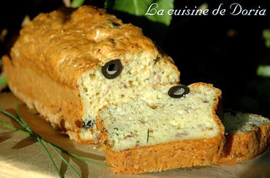 recette Cake au thon et olives noires