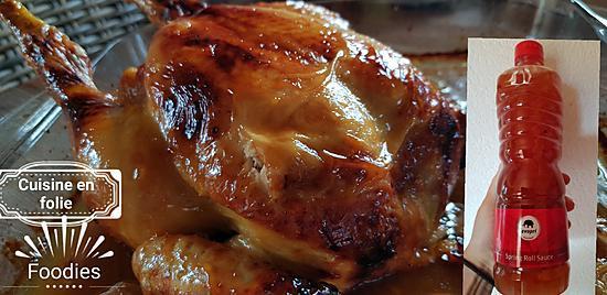 recette Le poulet comme chez mon marchand asiatique à succès ! ( plus simple impossible.. )