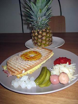 recette Croc Ananas et paprika