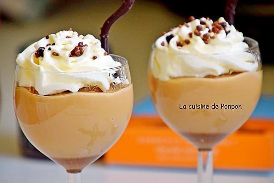 recette Crème à la confiture de lait Raffolé sur un lit de caramel au beurre salé Raffolé, sans oeuf