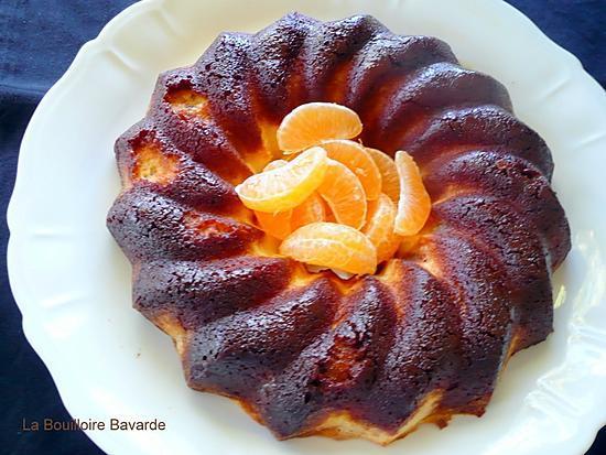 recette Le gâteau de semoule rhum et sirop de safran du Quercy