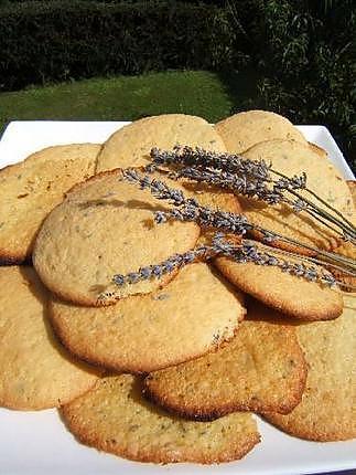 recette Biscuits aux fleurs de lavande