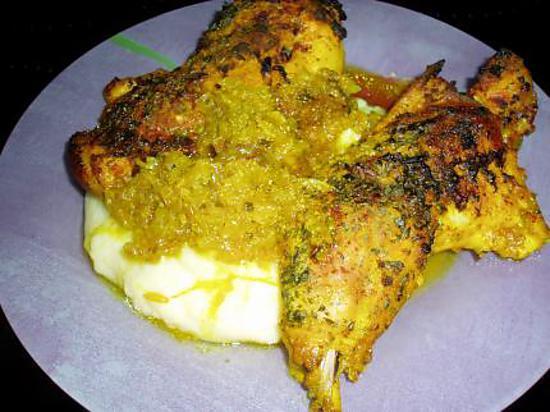 Recette de cuisses de poulet marin s - Cuisse de poulet calories ...