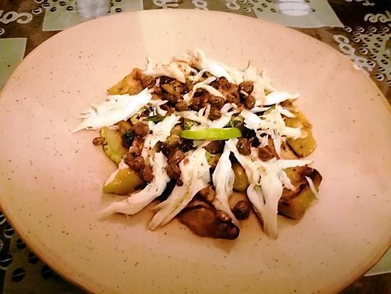 recette raie beurre  noir et courgettes  menthe  gingembre  curcuma    recettes de   oh la gourmande et cuisine  de gut