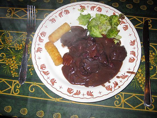 recette Civet de chevreuil maison