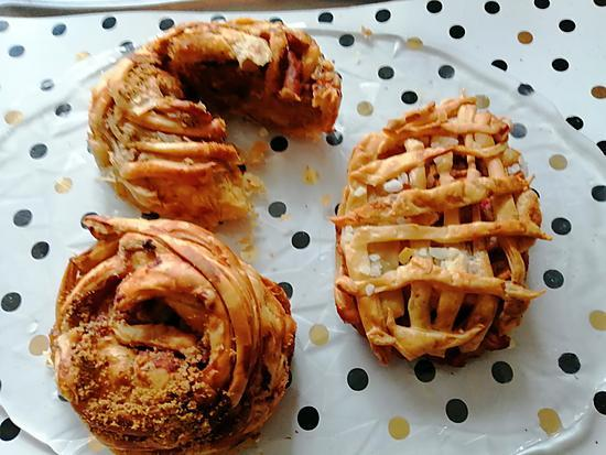 recette pommes  feuilletées  une cuisine pour   voozeno