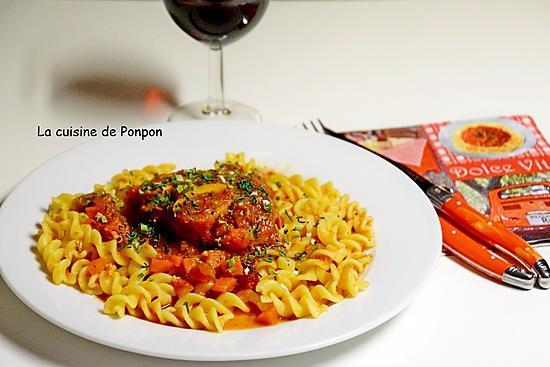 recette Osso bucco alla milanese