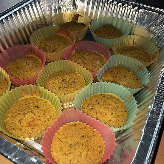 recette Muffins courge et noix