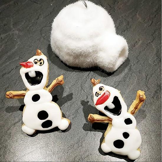 recette Cookies OLAF - La Reine des Neiges (Frozen)