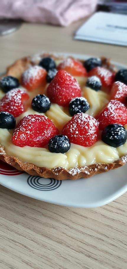 recette Tartelette crème pâtissière fruits