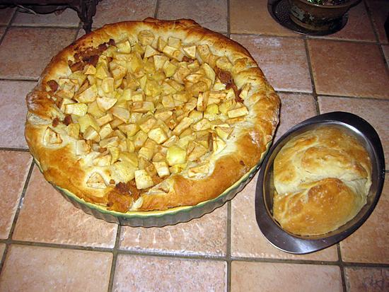 recette Tarte aux pommes avec ma pâte magique