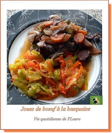recette Joues de bœuf à la basquaise