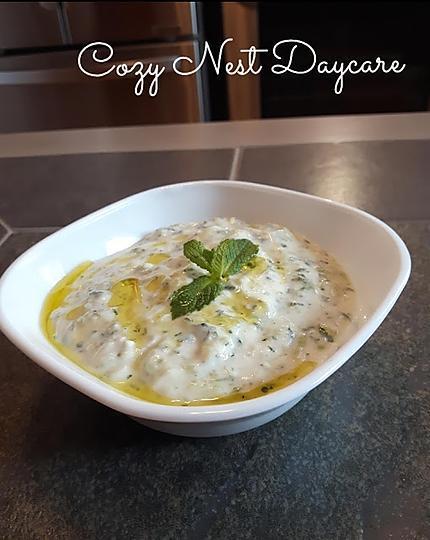 recette Tzatziki (Grèce)