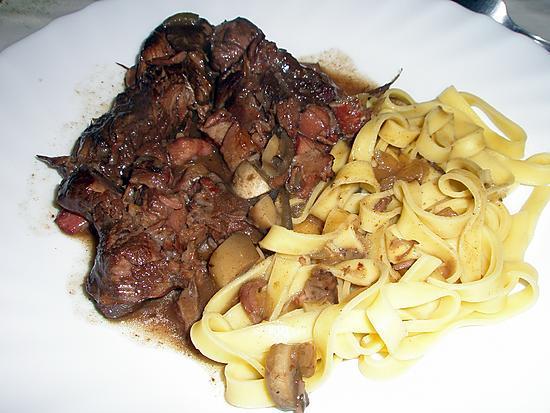 recette Boeuf bourguignon, de mon mari :-)